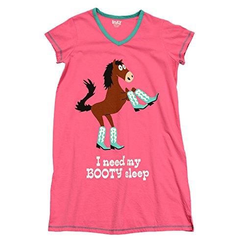 Women's Booty  Nightshirt  Pink
