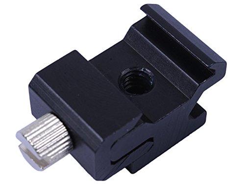 (Metal Adjustable Hot Shoe Mount Adapter for Canon Nikon Pentax Olympus Flash Speedlite Studio Light Stand)