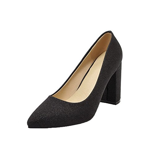 punta Pu on Women Aalardom Scarpe Heel a chiuse chiusa High Slip zwBCq