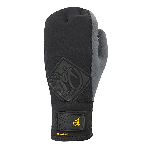 Palm Talon 2mm Open Palm Mitts - Black NA835 Sizes- - Large
