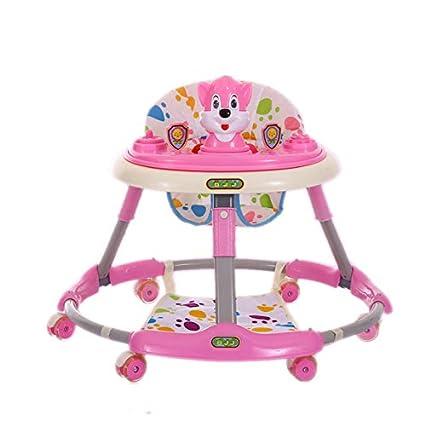 GUO@ Andador plegable para bebés de 6 a 18 meses Mesita ...