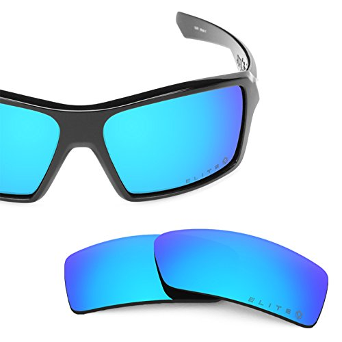 Revant Polarized Replacement Lenses for Oakley Eyepatch 1 Elite Ice Blue MirrorShield (Elite Ice)