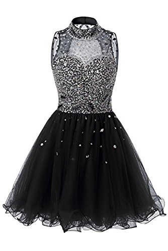 Tulle Halter Bridal Beaded Short Prom Bridesmaid Dress Gown Annies A2 Homecoming zwZ1xI7z