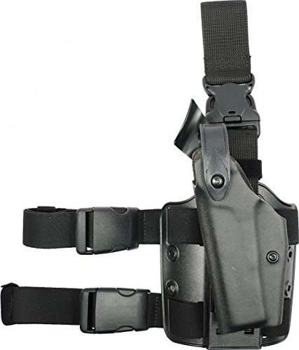 Safariland 6005 SLS Tactical Holster with Quick Release, Black, Left Hand