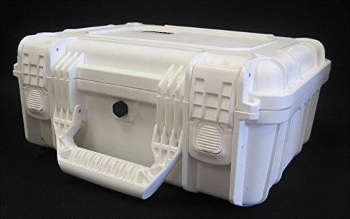 Condition 1 #075 White Airtight/Watertight Protective Case w