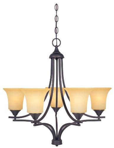 Designers Fountain 83485-ORB Seville 5 Light Chandelier