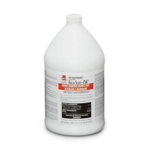 Top Performance 256 Disinfectant and Deodorizer, Fresh, (Top Performance Dog Cat)