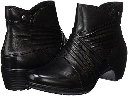 Romika Banja Negro black Botines 110 Mujer Para 05 110 HHS4rq