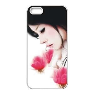 Designed iPhone 5 5s hard case back cover