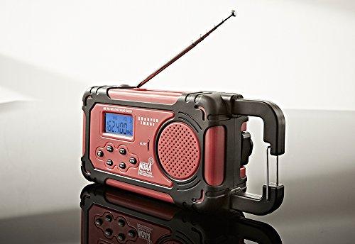 Sharper Image Emergency Solar Hand Crank Radio