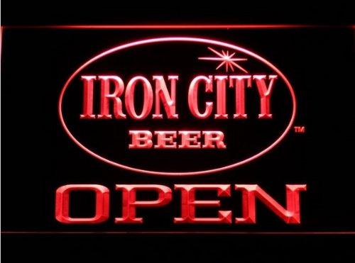 Iron City Beer Open Bar Neon Light Sign