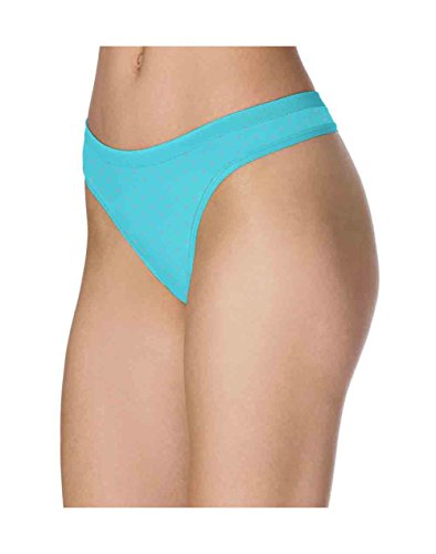 Barely There Swimwear (Barely There CustomFlex Fit Microfiber Thong, 6, Paradise Floral)