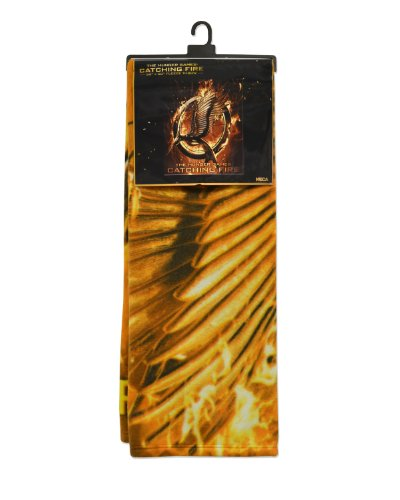 NECA The Hunger Games: Catching Fire Mockingjay Pin Fleece Blanket