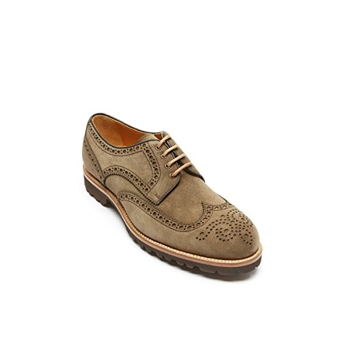 Britannico Passaporto Bp7140, Uomini Lace Up Brogue Verde Bosco Verde
