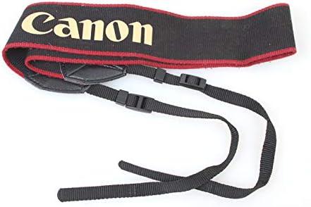 Canon Black//RED Strap
