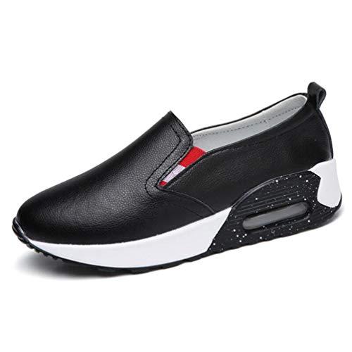 JRenok Women Flats Platform Loafers Spring Autumn Shallow Slip-On Air...