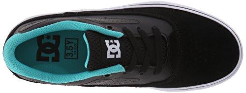 DC - Jungen Nyjah 2 Vulc Lowtop Schuhe, Black/Blue, 37 EU / 6 US