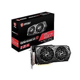 MSI Gaming Radeon RX 5600 XT Boost Clock: 1620 MHz 192-bit 6GB GDDR6 DP/HDMI Dual Torx 3.0 Fans Freesync DirectX 12…