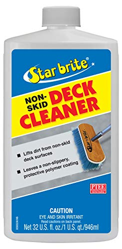 Deck Cleaner & Protectant - Wash Grime out of Non-Slip Surfaces & Protect from Future Stains ()