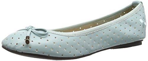 Butterfly Green Flats Women's Twists Mint Ballet Grace Watercolour TxrTAgq