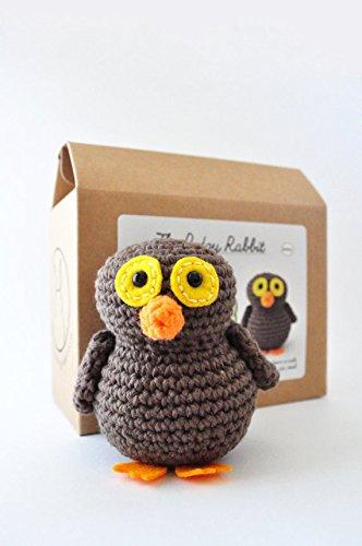 DIY Beginner Crochet Kit (Owl)
