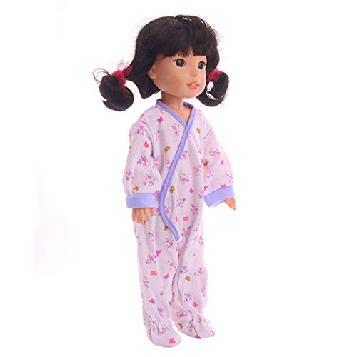 Waymine Onesies for 14 Inch Dolls Toy Accessory Girl's Toy