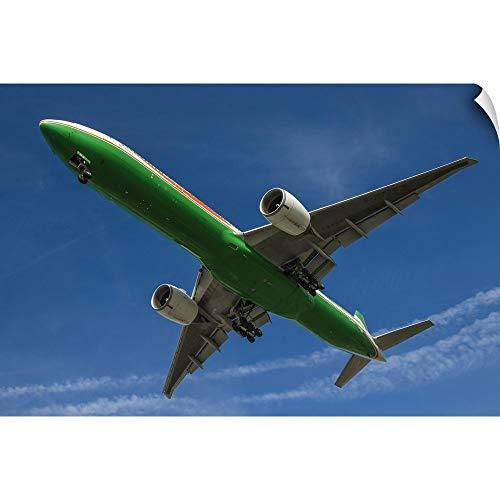 CANVAS ON DEMAND an EVA Airways Boeing 777-300ER Wall Peel Art Print, 30