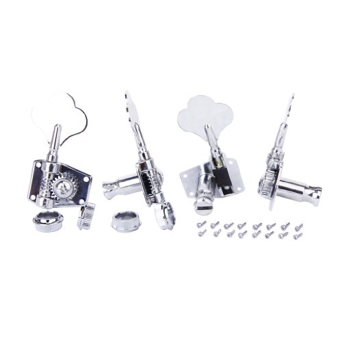 4pcs 4RString Tuning Pegs Machine Heads for Electric Bass (Electronic Tunner compare prices)