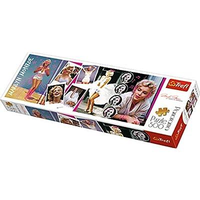 Trefl 29509 Puzzle Panorama Modello Marilyn Monroe 500 Pezzi Multicolore