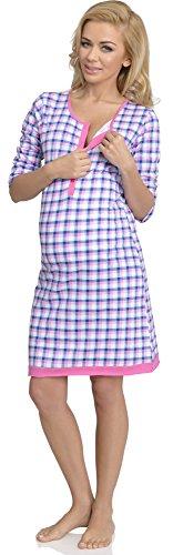 Be Mammy Lactancia Camisón para Mujer Mia Modelo-3
