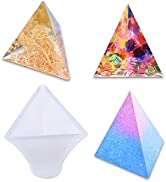 Three Cone Resin Casting Molds,Silicone Resin Molds,Triangle Resin Molds,Making Resin Molds for D...