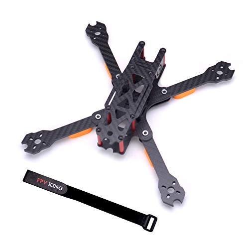 FPVKing QL5 237mm FPV Racing Drone Frame 5 inch Carbon Fiber Quadcopter Freestyle Frame with 4mm Arm