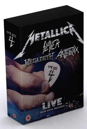 Metallica/Slayer/Megadeth/Anthrax : The Big 4 - Live from Sofia, Bulgaria (5 CD/2 DVD Set) by Warner Bros