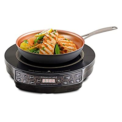 NuWave 30242 PIC Gold Precision Induction Cooktop with 10.5 in. Fry Pan