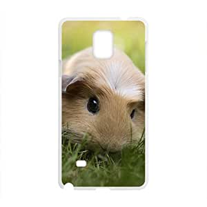 Cute Mouse On Green Grass White Phone Case for Diy For Touch 5 Case Cover