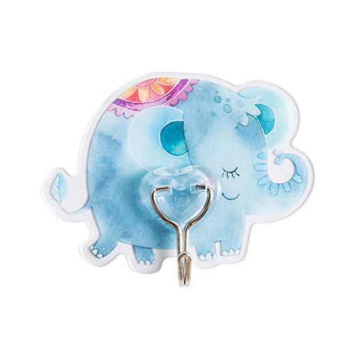 - NEARTIME Cute Wall Hook Seamless Reusable Scratch Wall Hook for Kitchen Bathroom Ceiling