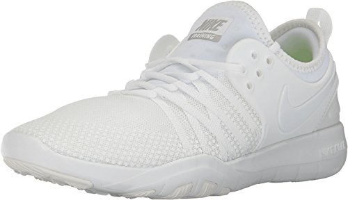 Nike Women's Free TR 7 Training Shoes, Summit White/Summit White, 8 (Training Free Cross Women Nike)