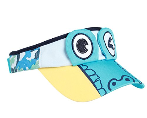 ACVIP Baby Kids' Summer Crocodile Eye Shape Design Visor Cap Light Blue by ACVIP