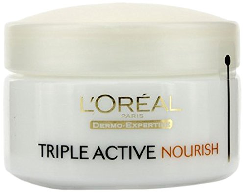 L'Oreal Paris Triple Active Day Moisturiser Very Dry Skin 50ml L' Oreal 3600521937259