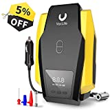 VacLife Portable Air Compressor for Car Tires, DC 12V Air Compressor Tire Inflator
