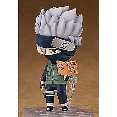 Good Smile Naruto Shippuden Kakashi Hatake Nendoroid Action Figure: Toys & Games