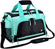 Ultimate Gym Bag 2.0: The Durable Crowdsource Designed Duffel Bag with 10 Optimal Compartments Including Water