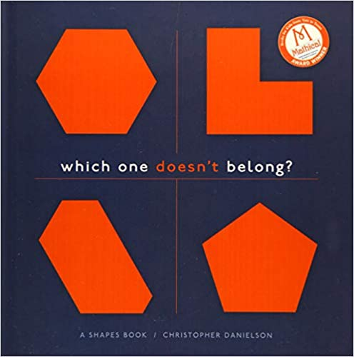 Amazon com: Which One Doesn't Belong?: A Shapes Book