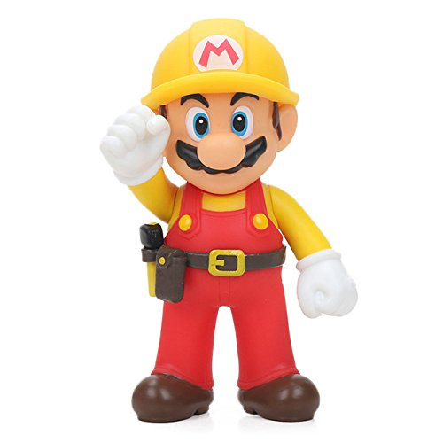 Toy, Play, Fun, 13-15cm Super Mario Bros Bowser Mario Maker Odyssey Yoshi PVC Action Figures Luigi Donkey Kong Model Dolls Toys Ornament Decor, Children, Kids, Game