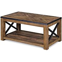 Magnussen T2386-43 Penderton Wood Rectangular Cocktail Table, Small