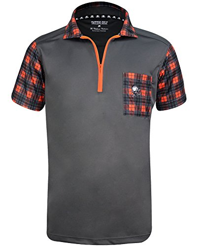 Tattoo Golf GT Hazard ProCool Men's Golf Shirt - Medium (Tattoo Golf)