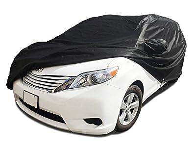 CarsCover Custom Fit 2004-2016 Toyota Sienna Mini Van Car Cover Xtrashield Minivan Black