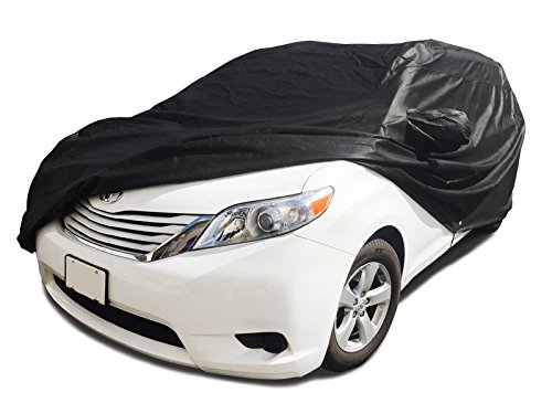 Xtrashield CarsCover Custom Fit 2004-2018 Toyota Sienna Mini Van Car Cover Minivan Black 709870730153