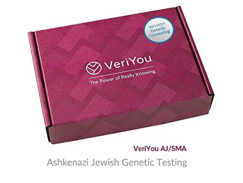 VeriYou Pre-Pregnancy Test: Ashkenazi Jewish Genetic Test - Includes Genetic Counseling by VeriYou