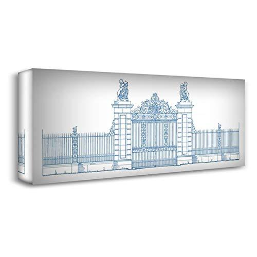 Majestic Gate - Majestic Gate I 40x19 Gallery Wrapped Stretched Canvas Art by Wild Apple Portfolio